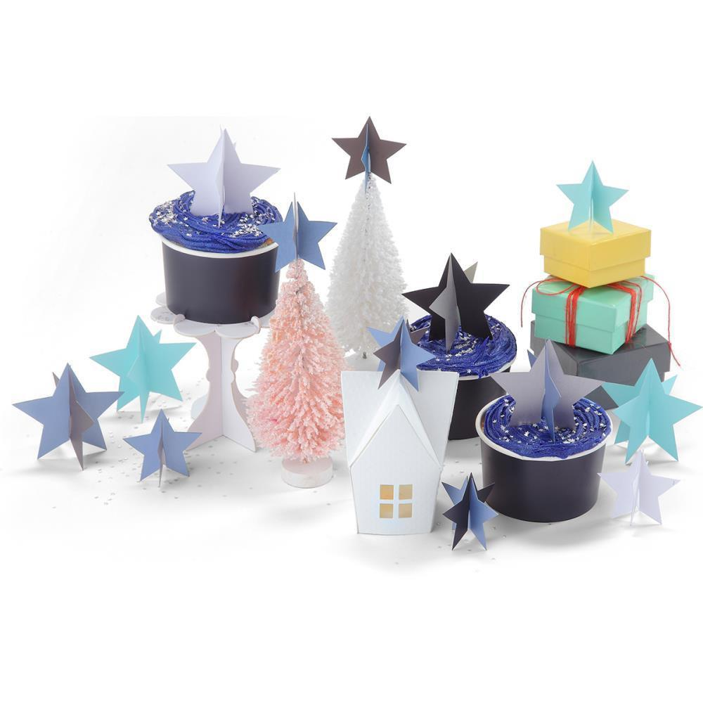 Sizzix Bigz 3-D Die By Where Women Cook 3D Stars