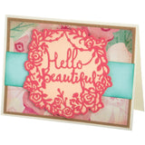 Sizzix Thinlits Dies By Katelyn Lizardi 2 pack Hello Beautiful