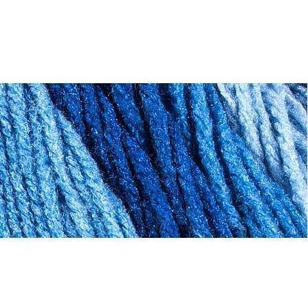 Red Heart Super Saver Ombre Yarn 10oz/283g - True Blue