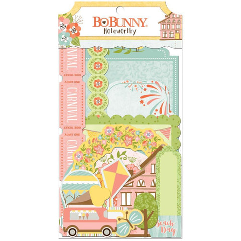 Bo Bunny Noteworthy Die Cuts - Weekend Adventures