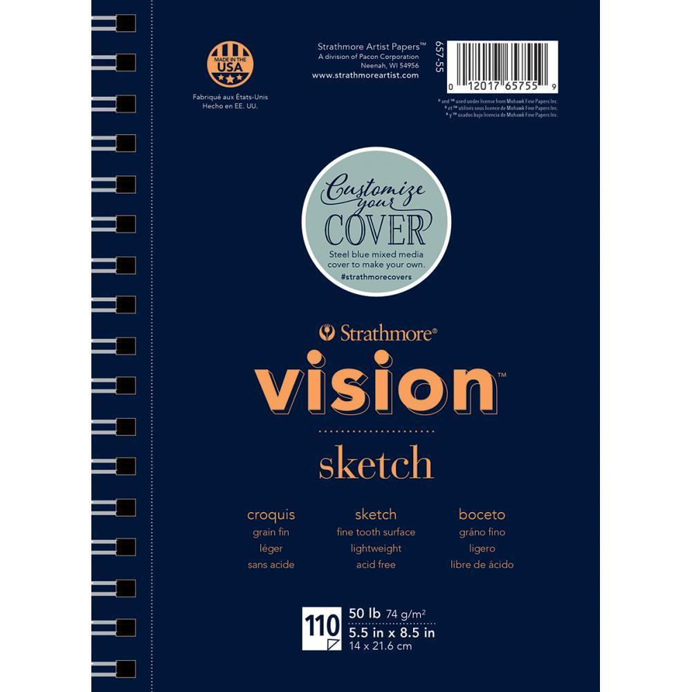 Strathmore Vision Sketch Pad 5.5X8.5