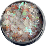 28 Lilac Lane Tin with Sequins 40g - Fairy Sparkle
