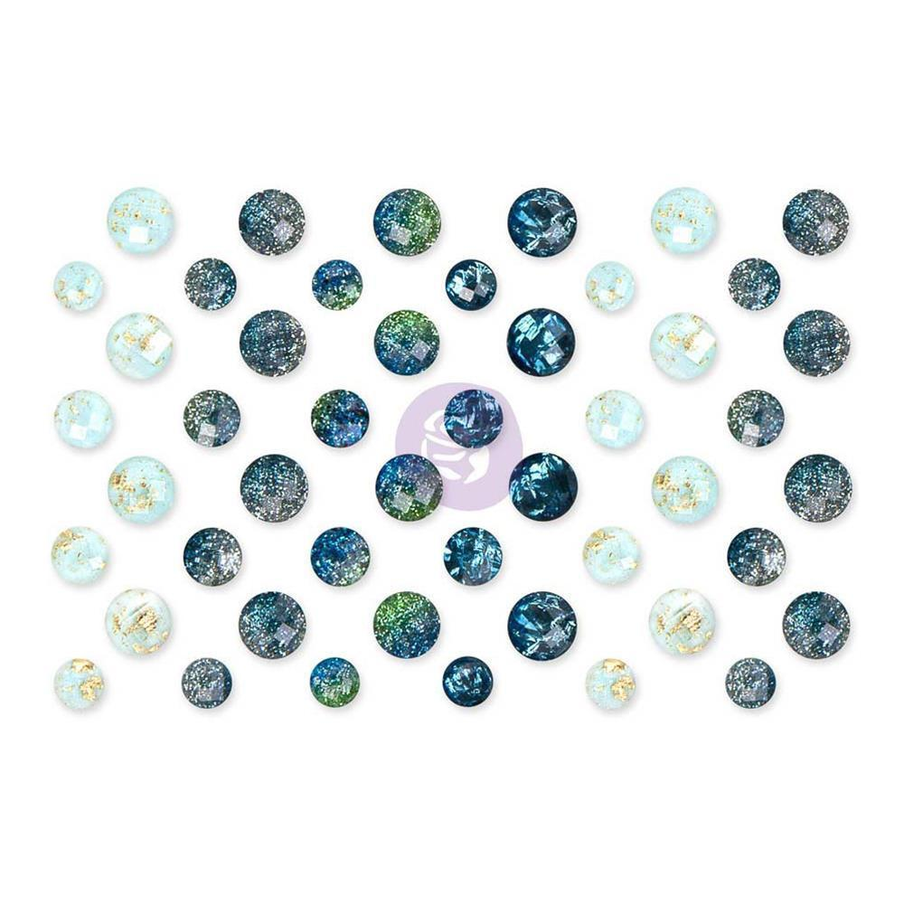 Prima Marketing - St. Tropez Say It In Crystals Adhesive Embellishments