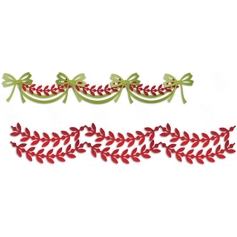 Dees Distinctively Dies - Festive Garland 1