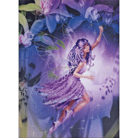 RIOLIS Stamped Cross Stitch Kit 11.75 inch X15.75 inch Fairy (14 Count)