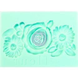 Prima Marketing - Iron Orchid Designs Vintage Art Decor Mould 2.5x3.5 inch - Fleur