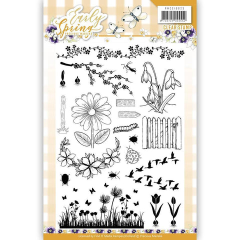 Find It Precious Marieke - Early Spring Clear Stamps - Early Spring