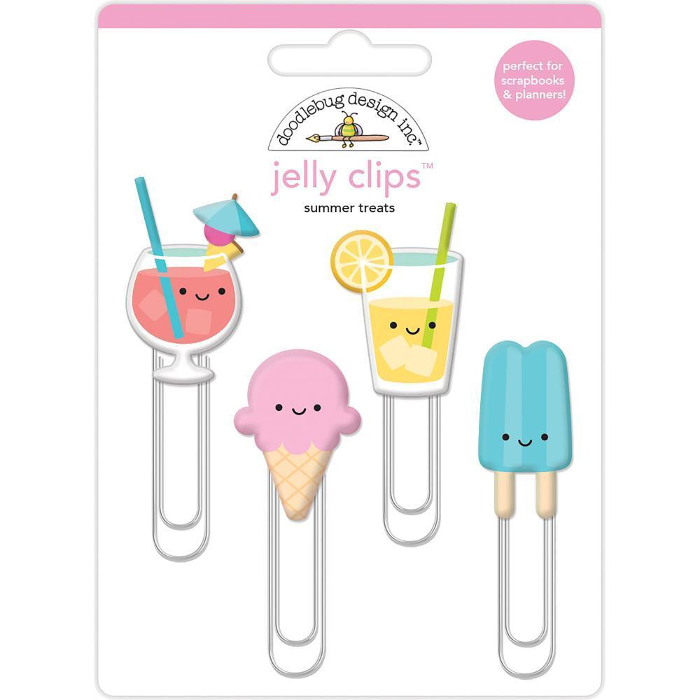 Doodlebug Jelly Clips 4 pack - Summer Treats