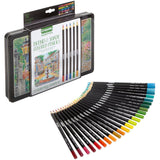 Crayola Signature Blend & Shade - Tin of Coloured Pencils - 50 pack