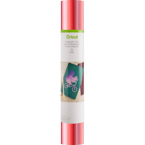 Cricut Holographic Vinyl 12x48 inch Roll - Pink