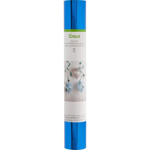 Cricut Party Foil 12x48 inch Roll 2 pack - Blue