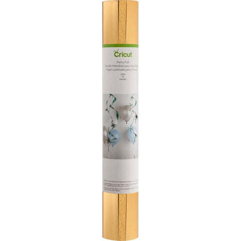 Cricut Party Foil 12x48 inch Roll 2 pack - Gold