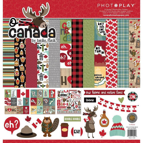 PhotoPlay - Collection Pack 12x12 inch - O Canada