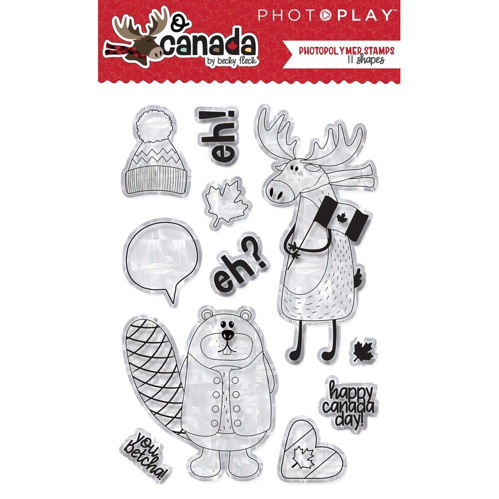 PhotoPlay Photopolymer Stamp - O Canada