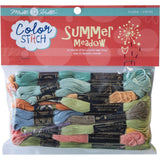 Mill Hill Colour Stitch Floss Starter Pack 24 pack Summer Meadow