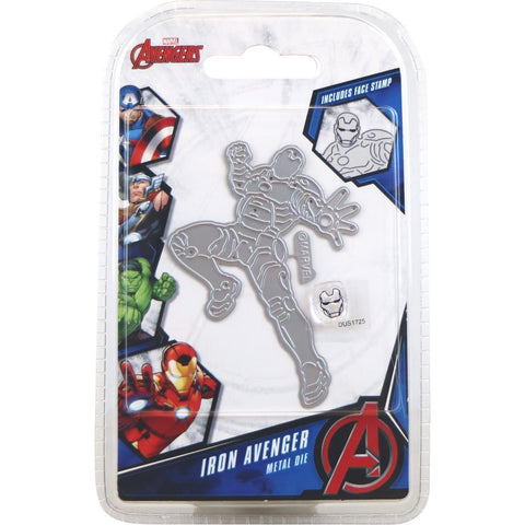 Marvel Avengers Die And Face Stamp Set - Avengers Iron Avenger