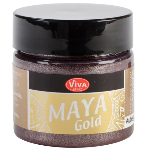 Viva Decor Maya Gold 45ml - Aubergine