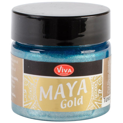 Viva Decor Maya Gold 45ml Turquoise