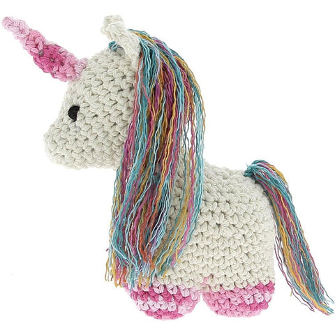 Hoooked - Unicorn Nora Yarn Kit with Eco Brabante Yarn - Off White