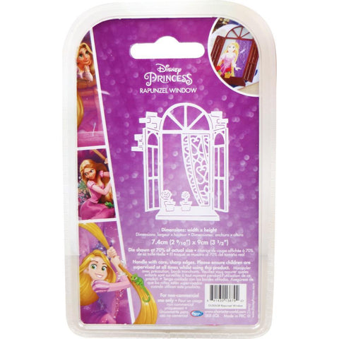 Disney Tangled Die - Rapunzel Window