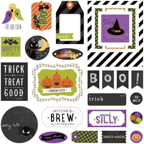 PhotoPlay - Trick Or Treat Ephemera Cardstock Die-Cuts 30 pack