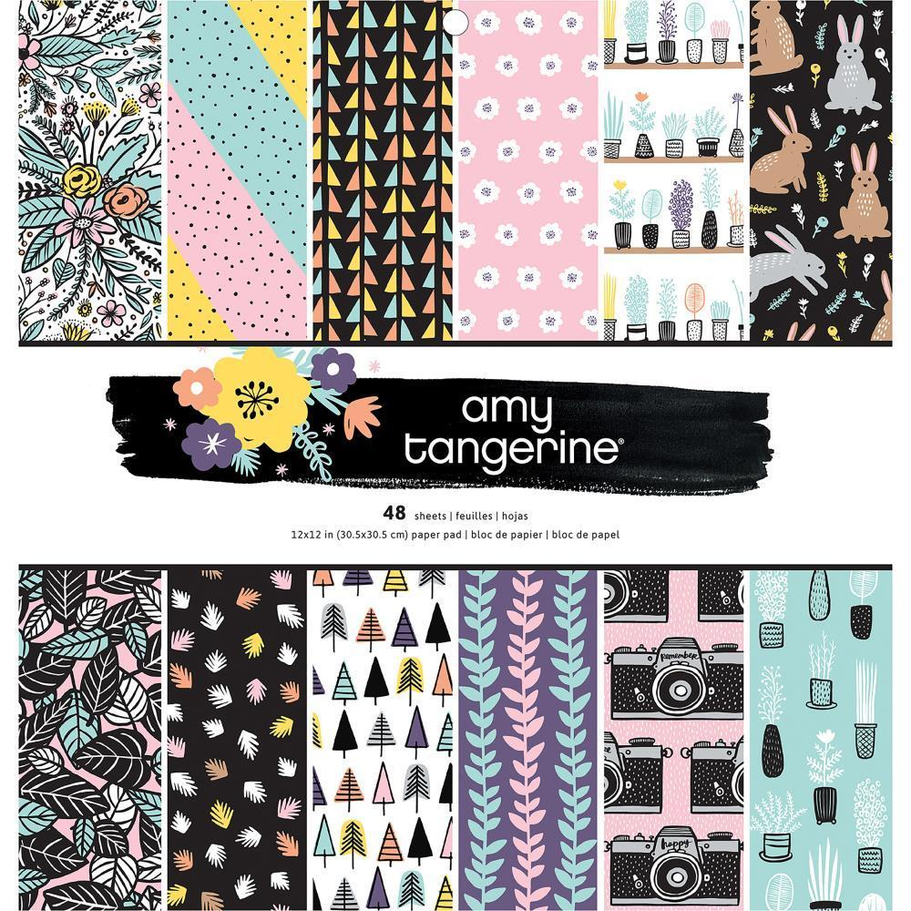 Amy Tan - Shine On  S/S Paper Pad 12 x12 inch 48 pack