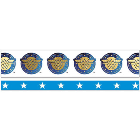 Paper House Washi Tape 2 pack - Wonder Woman 15mmx10m and 5mmx10m