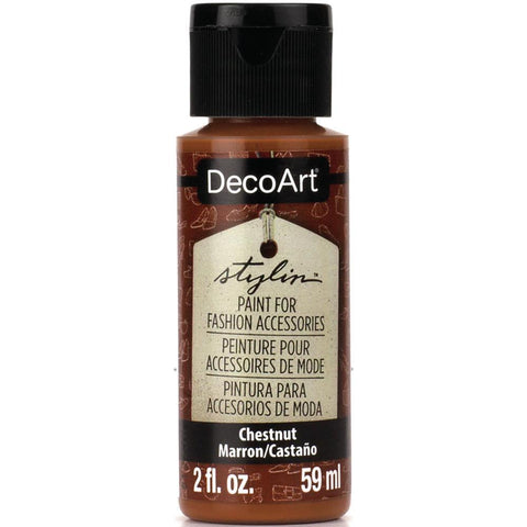 Americana Decor - Stylin Paint 2oz - Chestnut
