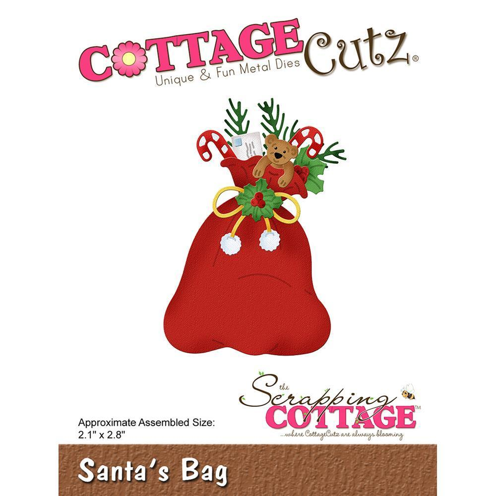 CottageCutz Die - Santas Bag