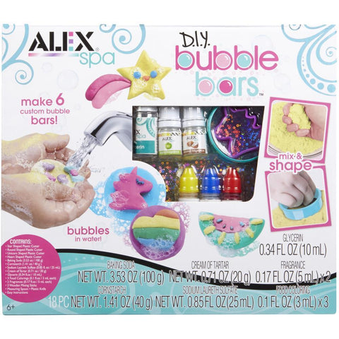 DIY Spa Bubble Bars Kit