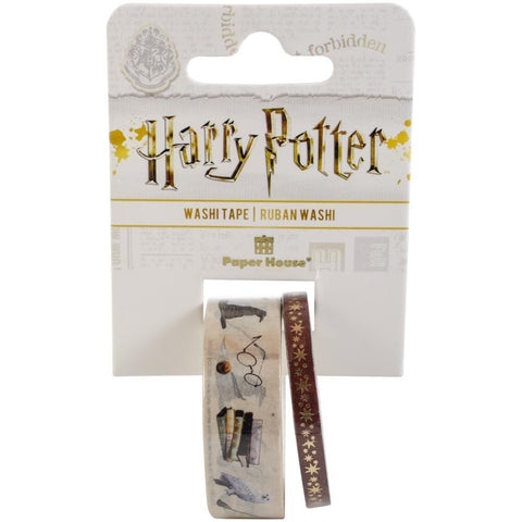 Paper House Washi Tape 2 pack - Harry Potter - Icons