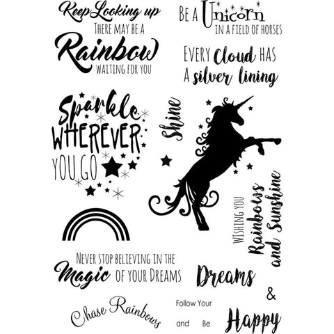 Debbi Moore Life Quotes A5 Stamp Sheet - Inspiration 22