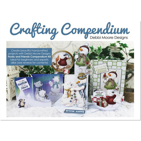 Debbi Moore Crafting Compendium Cardmaking Kit - Frosty & Friends