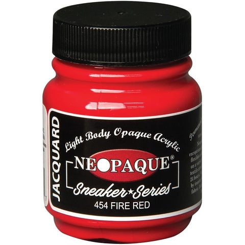 Jacquard Neopaque Acrylic Paint 2.25oz - Sneaker Series - Fire Red