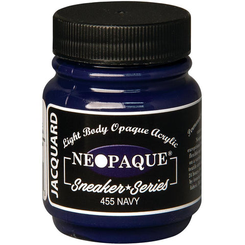 Jacquard Neopaque Acrylic Paint 2.25oz - Sneaker Series - Navy