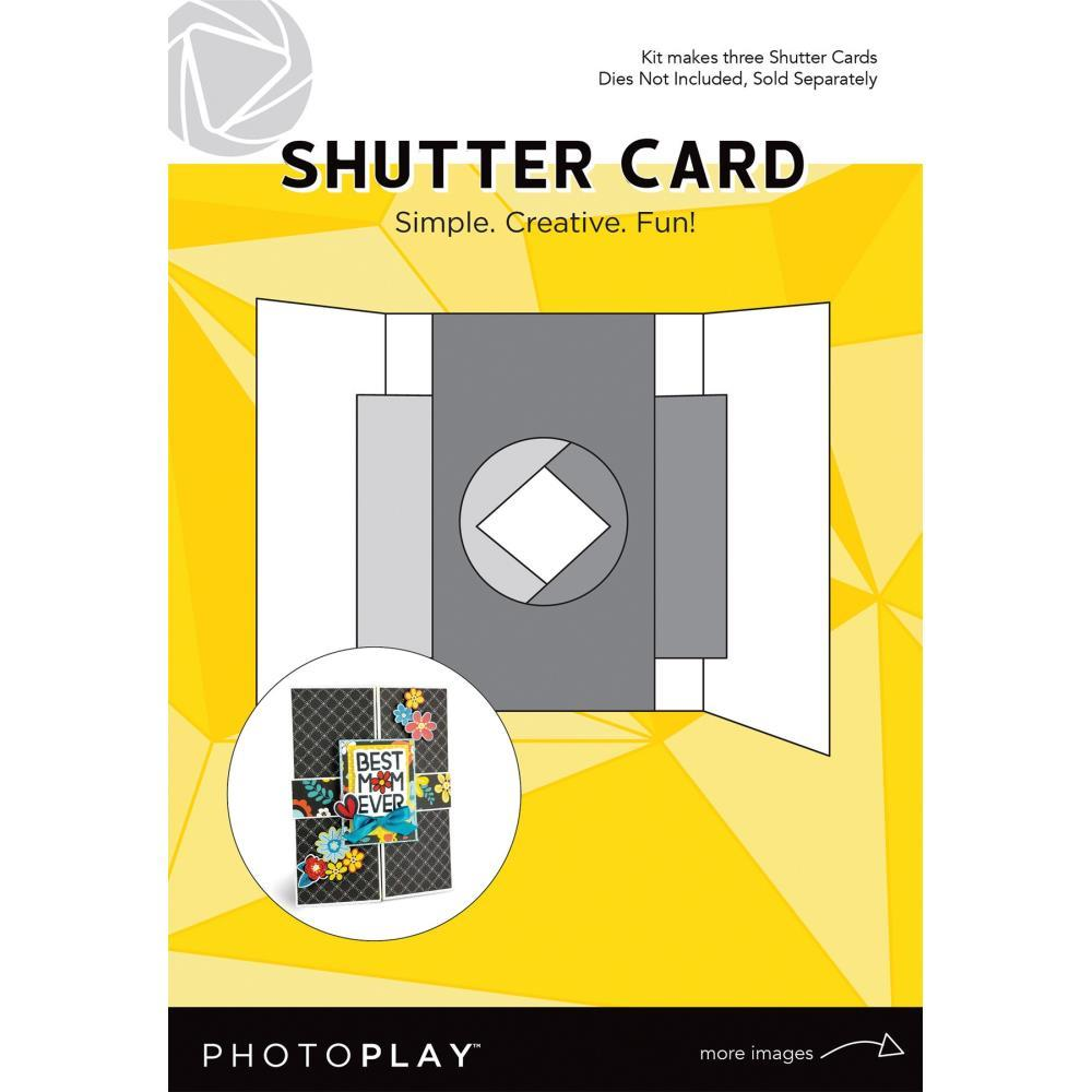 Photoplay - Shutter Card 3 pack - Makes 3