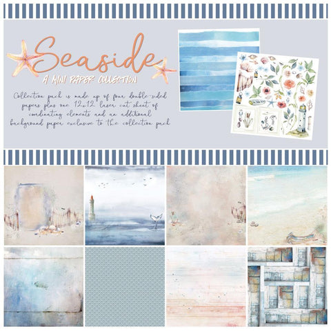 49 And Market - Collection Pack 12 inch X12 inch - Seaside