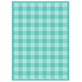 Cuttlebug 5 inch X7 inch Embossing Folder Kitchen Weave
