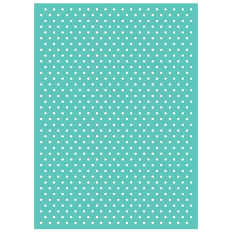 Cuttlebug 5 inch X7 inch Embossing Folder Swiss Dots