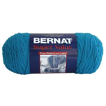 Bernat Super Value Solid Yarn - Peacock - 7oz (197g) 426yd