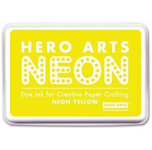 Hero Arts Neon Ink Pad - Yellow
