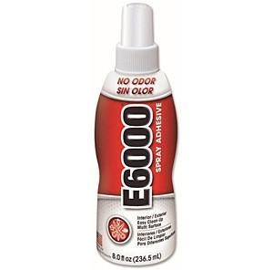 E6000 Spray Adhesive 8 oz - Clear