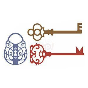 Cheery Lynn Dies - Lock And Keys (Set Of 3)