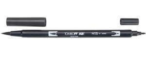 Tombow Dual Brush Marker - N15 - Black