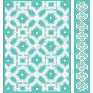 Cuttlebug 5X7 3-D Embossing Folder/Border Set Fiesta