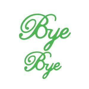 Cheery Lynn - Bye (Set Of 2)