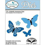 Elizabeth Craft Pop It Up Metal Dies By Karen Burniston Butterfly Accessory (Co-1B)