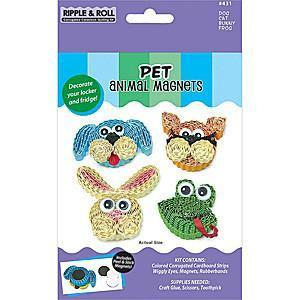 Quilled Creations - Quilling Magnet Kit Pet