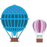 Cheery Lynn - Hot Air Balloons (Set Of 2) (Applique Cut & Stitch)