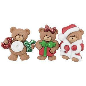 Dress It Up Holiday Embellishments - A Beary Merry Christmas